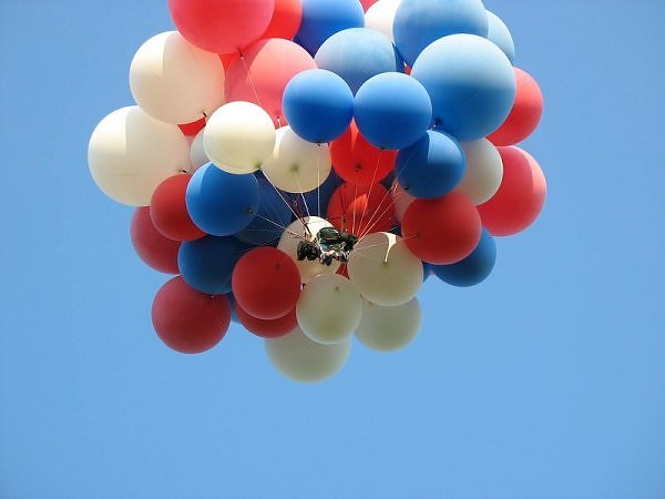 Gallery For Helium Balloons In The Air
