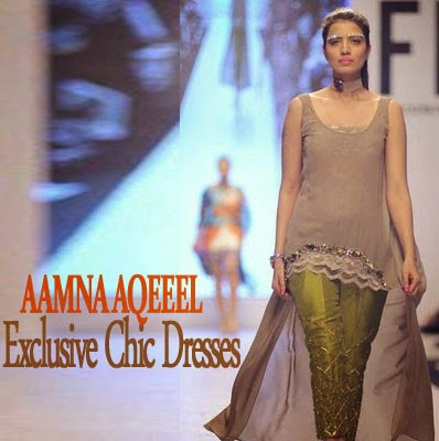 Aamna Aqeel Exclusive Chic Dress Collection