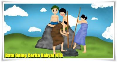 Batu Golog Cerita Rakyat NTB
