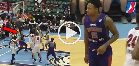 Bobby Ray Parks Scores First Career NBA D-League Basket (VIDEO)