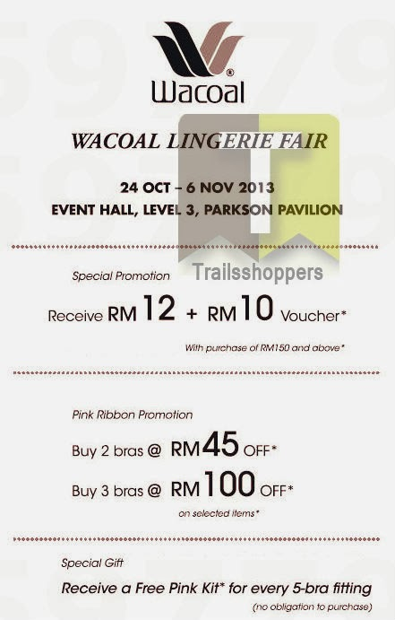 Wacoal Lingerie Fair 2013
