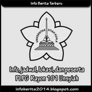 Info, jadwal, lokasi, peserta PLPG Rayon 101 Unsyiah