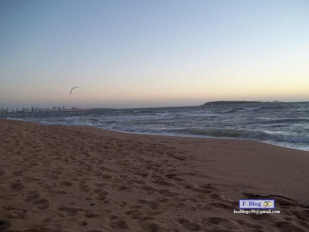 Punta del Este - La península desde playa Mansa