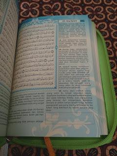 gambar tampilan dalam Al-Quran Wanita