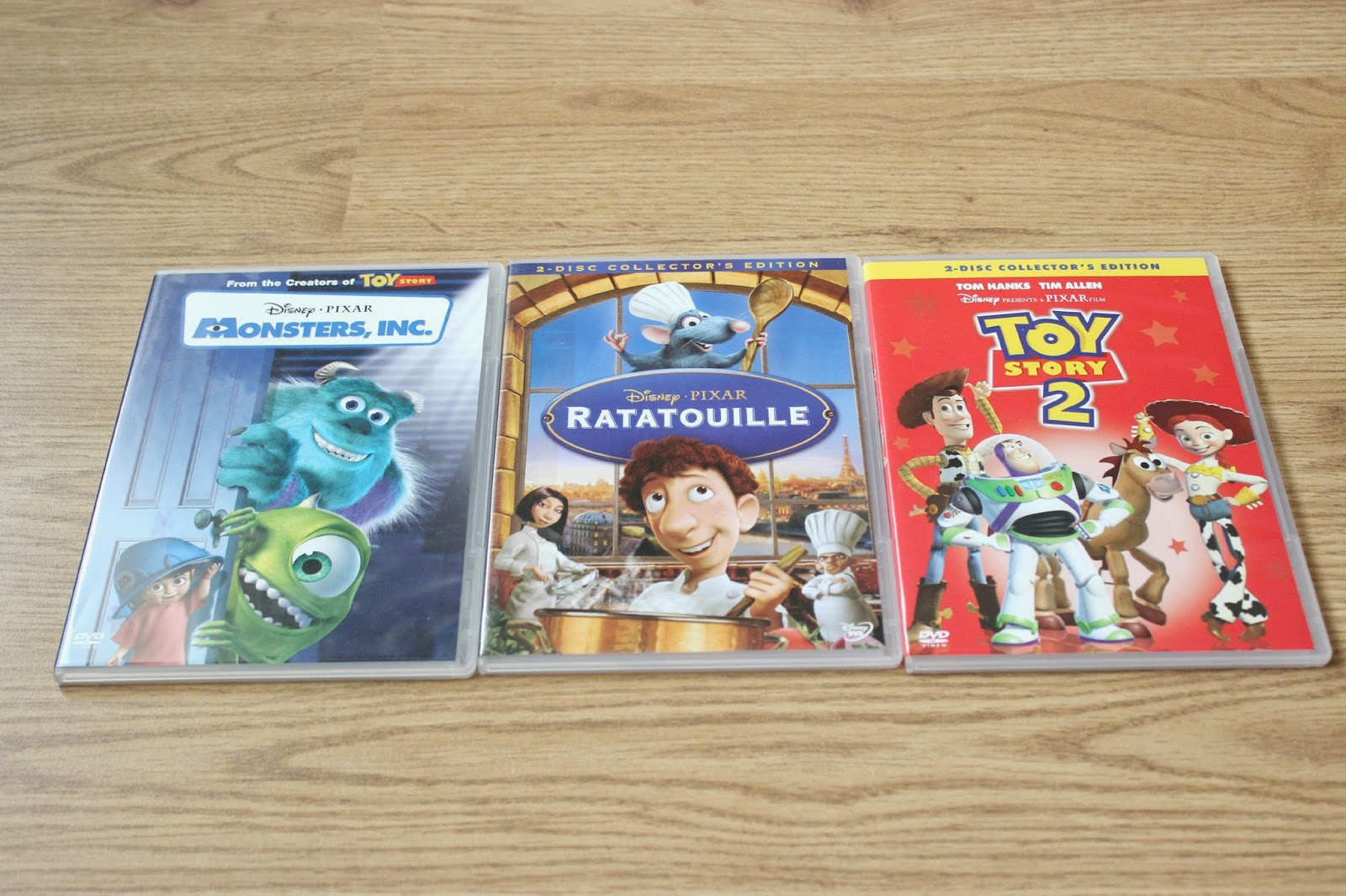 Picture of Top 3 Favourite Pixar Films