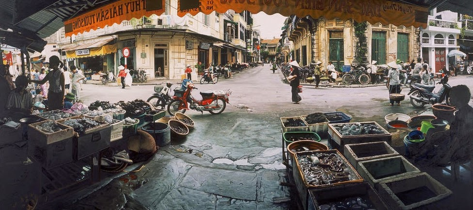 19-Old-Quarter-Hanoi-Vietnam-Anthony-Brunelli-Cities-&-Architecture-seen-through-Paintings-www-designstack-co