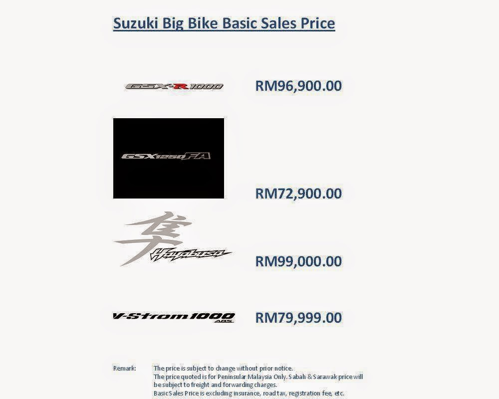 Suzuki Malaysia Lancar 4 Model Superbike 2014 - Era Baru