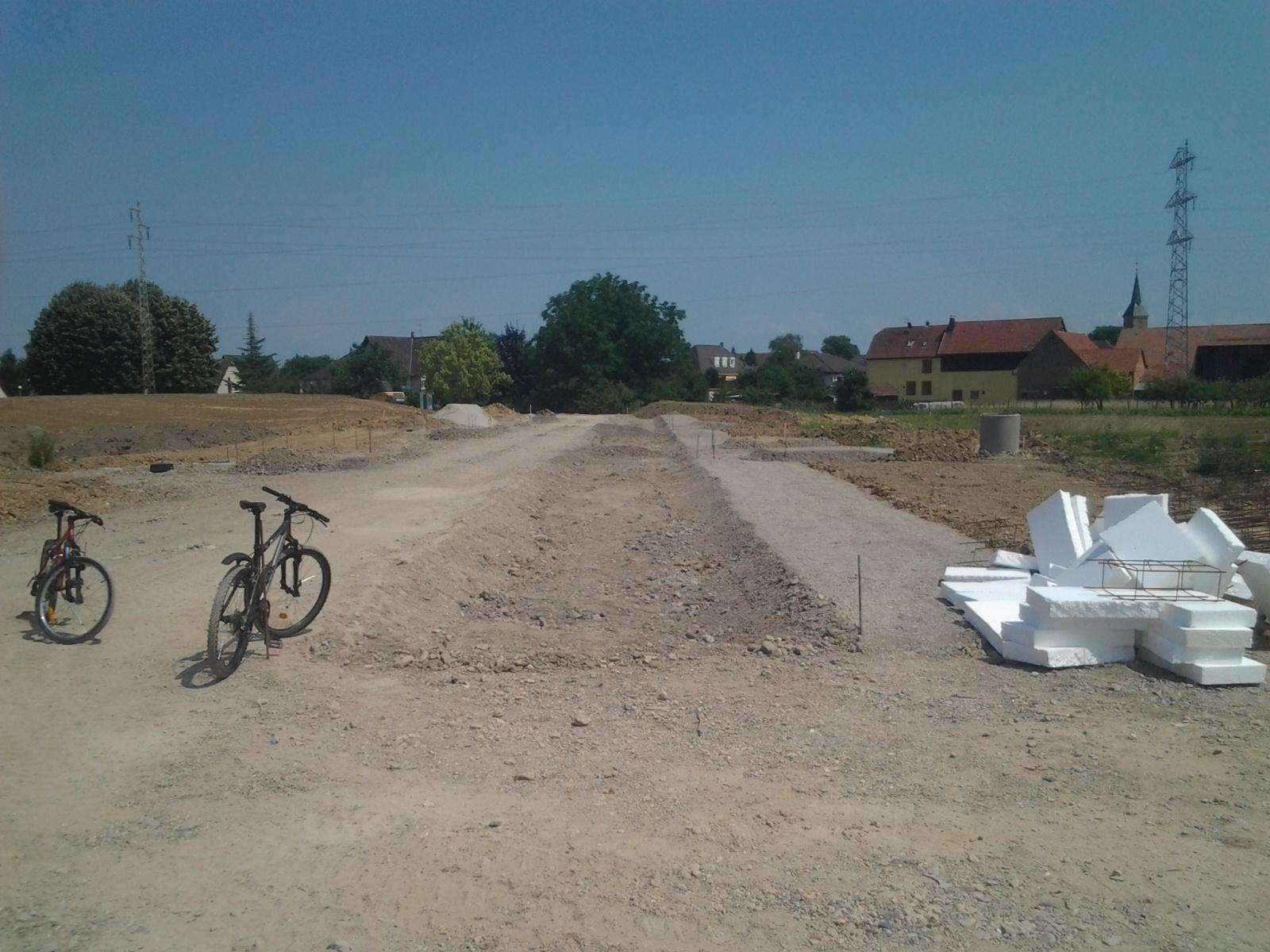 Notre 1 re construction dans le 67 avanc e de la - Cuisine schmidt fegersheim ...