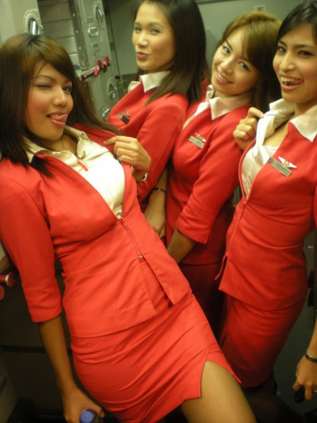 Air Asia hot stewardess, Air Asia, Air Asia Hostess