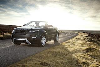 Range Rover Evoque Cabriolet Prototype