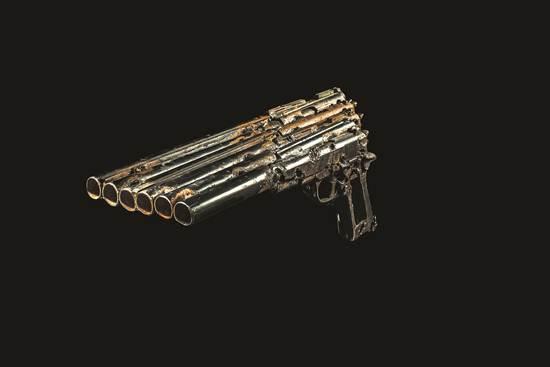 instrumen-muzik-dari-pistol