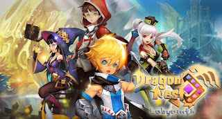 Screenshots of the Dragon Nest Labyrinth for Android tablet, phone.