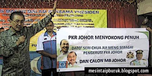 MB Johor: Salehuddin kena lawan Jui Meng dulu...
