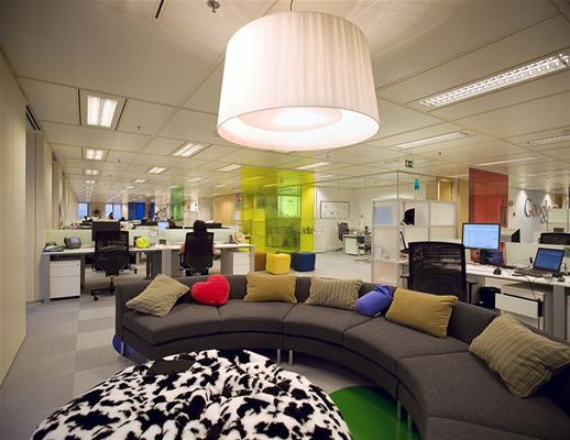 Hogares frescos oficinas de google en toda europa for Interior design firms europe