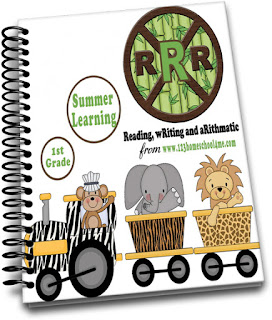 1st Grade Summer Learning RRR - 1st grade worksheets
