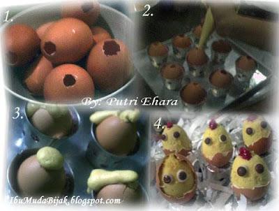 Cute Egg Cakes