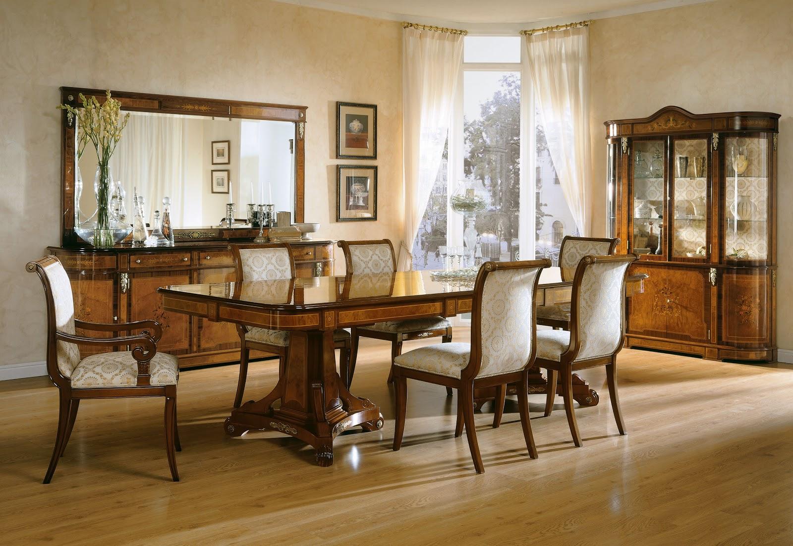 Soluciones para el hogar y el amor el comedor - Comedores clasicos ...