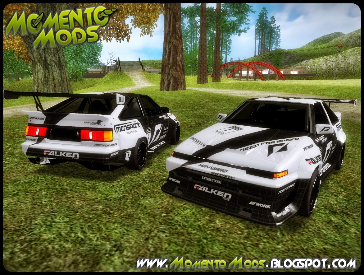 GTA SA - Toyota Corolla AE86 SHIFT2