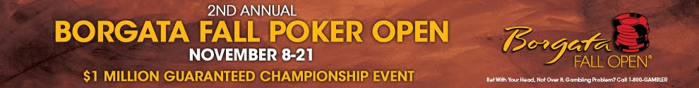 Borgata Fall Poker Open 2012