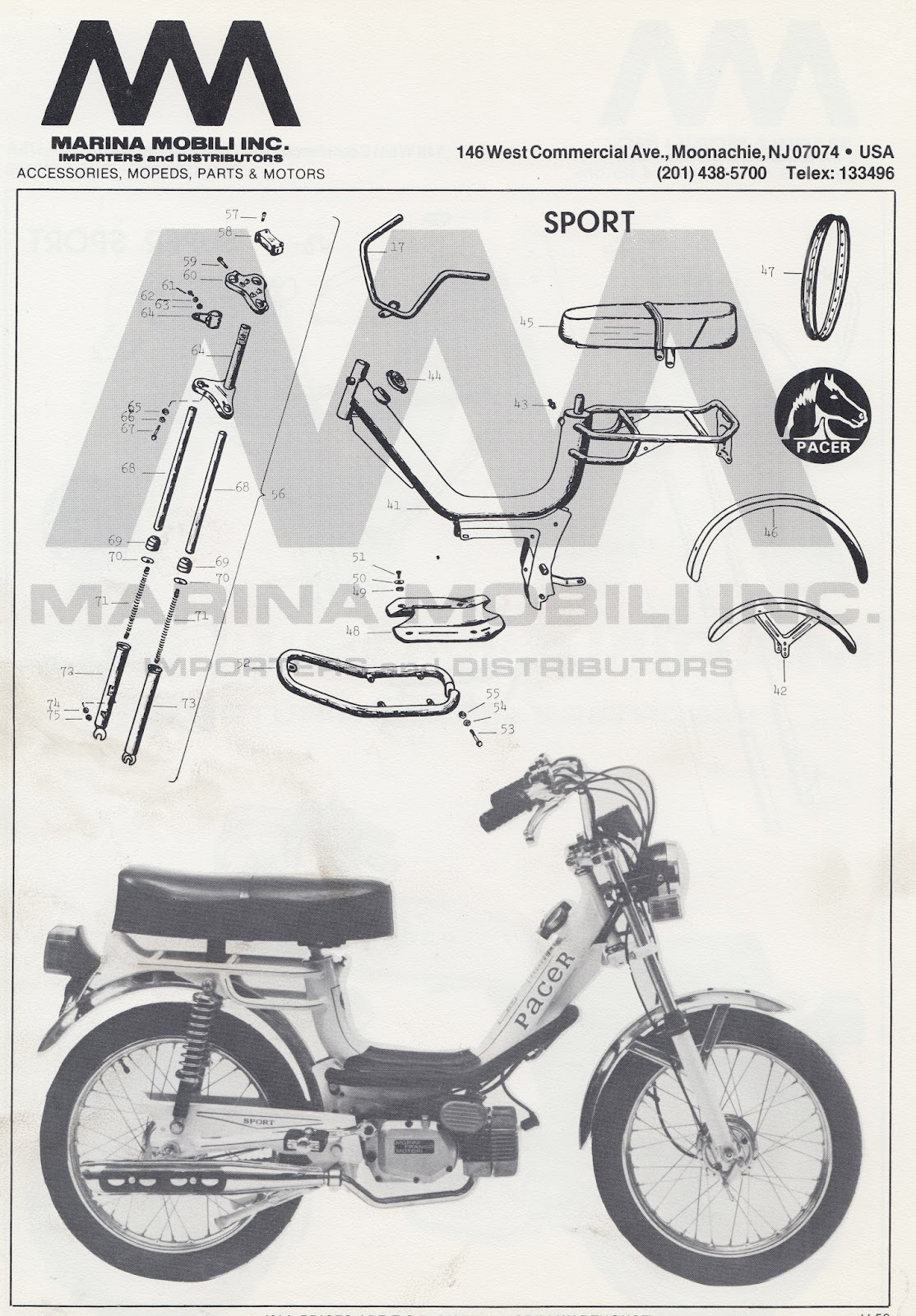 home alone mopeds pacer sport