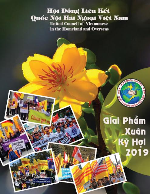 Giai Phẩm Xuân Kỷ Hợi 2019-Hội Đồng Liên Kết Quốc Nội Hải Ngoại