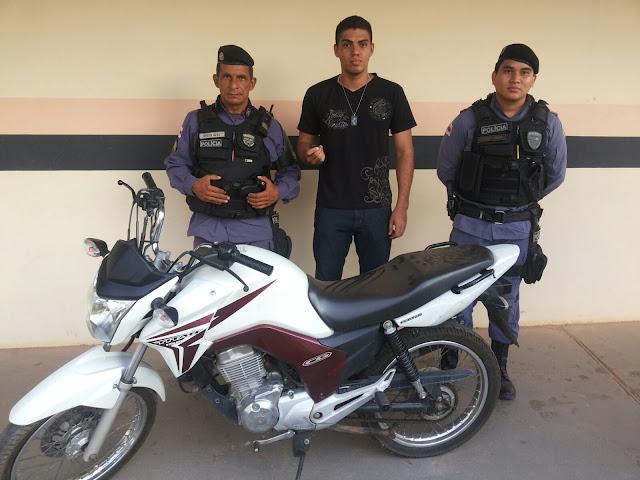 MAIS UMA MOTO ROUBADA É DEVOLVIDA AO PROPRIETÁRIO PELA POLÍCIA DE COARI