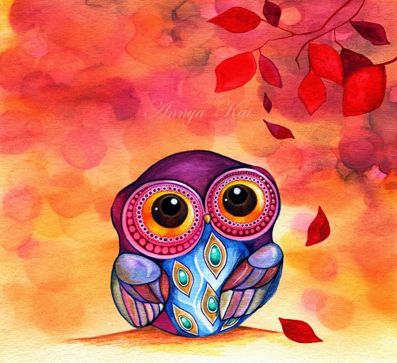 cute owl fall themed wallpapers - photo #36