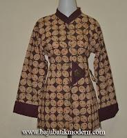 Model Baju Batik Kerja Terbaru Modern