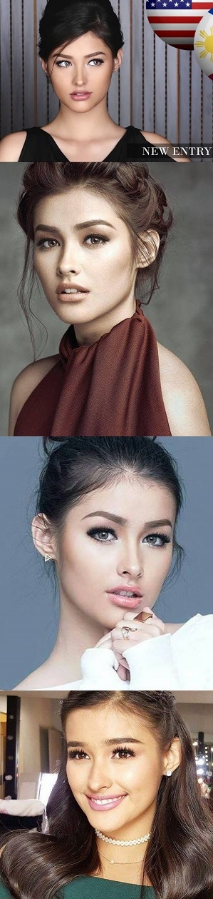 LIZA  SOBERANO  IS TOP 6 IN 100  MOST  BEAUTIFUL  FACES IN THE WORLD!