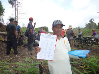 Pendataan Kelompok Tani Hkm Tormatutung