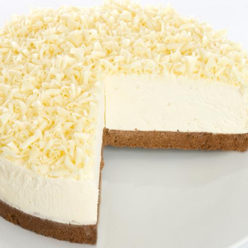 Serve and enjoy the White Chocolate Cheesecake Recipe Dessert