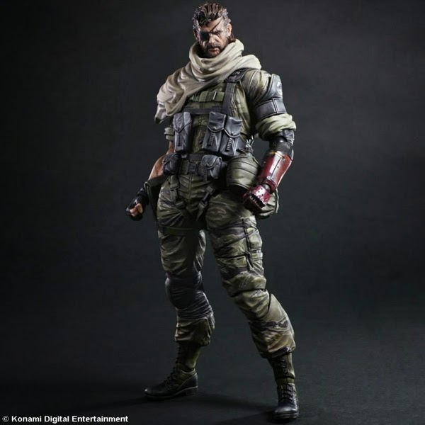 Play Arts Kai - Metal Gears Solid 5 - The Phantom Pain - Snake figure