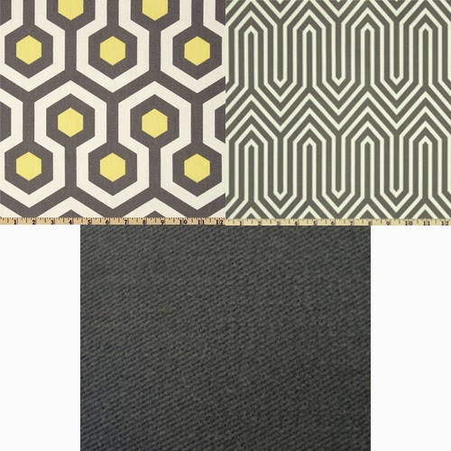 Knesting fabrics for custom IKEA slipcovers