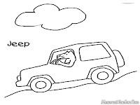 Menjelajahi Bukit Dengan Mobil Jeep