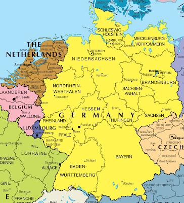Kart over Tyskland Bilder