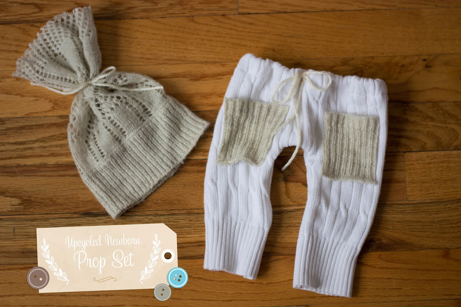 Diy newborn photography prop upcycled pants and hat set tutorial january 6 2014 diy newborn photography prop solutioingenieria Image collections