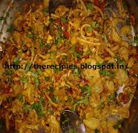 crunchy noodle bhel