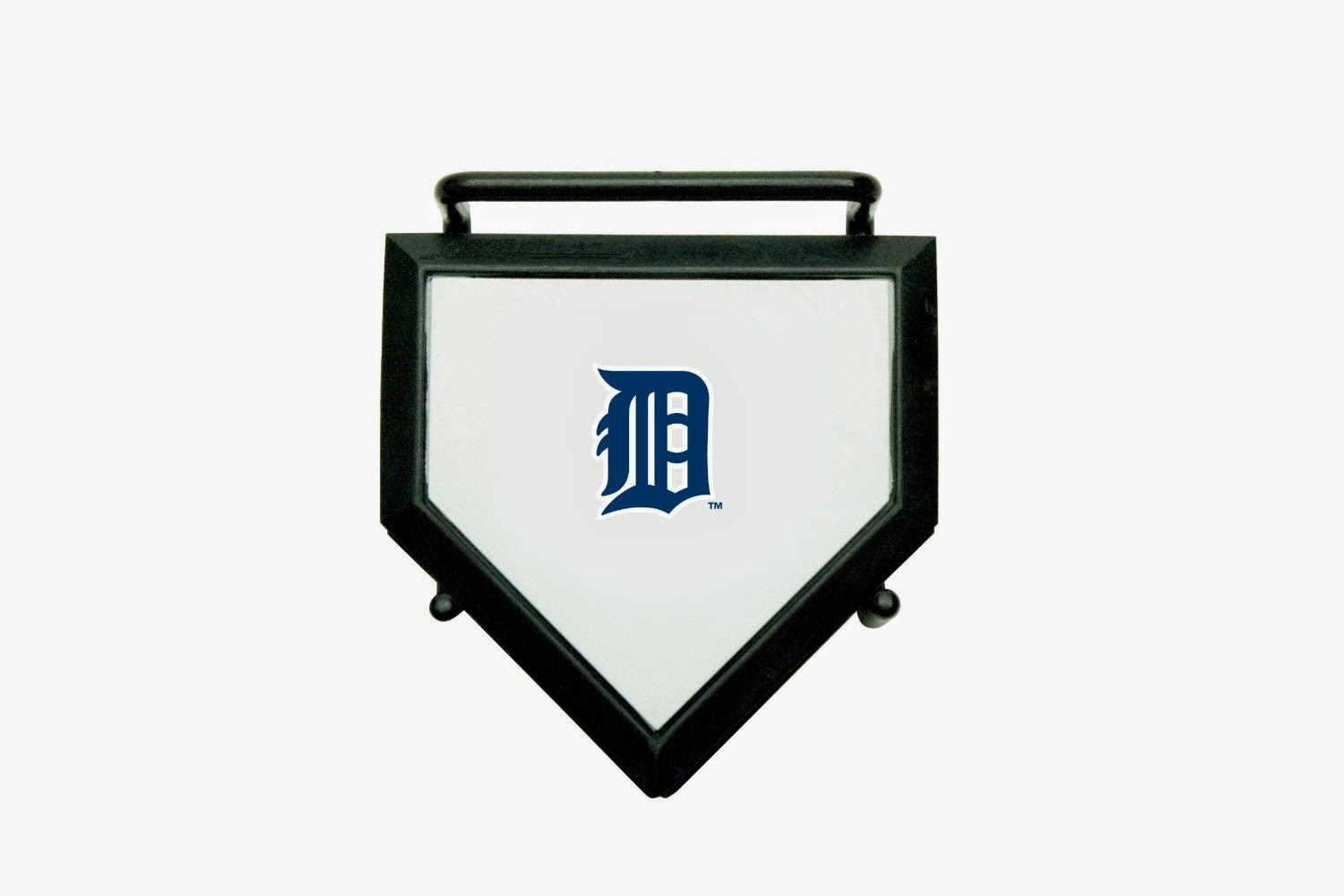 Detroit Tigers MLB Home Plate Coaster Set