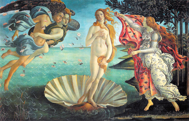 the art of photoshop birth of venus