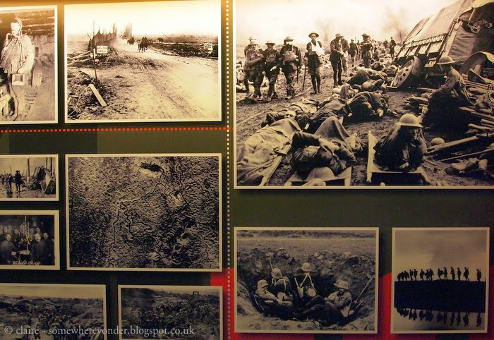Images of the Great War at Hooge Crater Museum, Flanders Fields Belgium