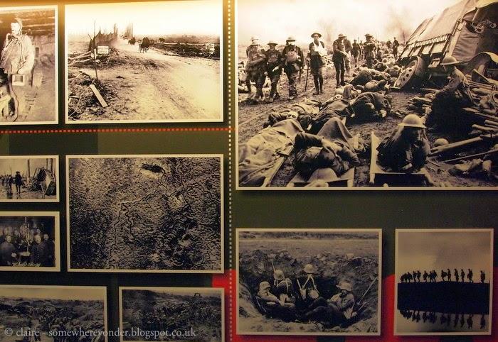 Images of the Great War at Hooge Crater Museum, Flanders Fields Belgium