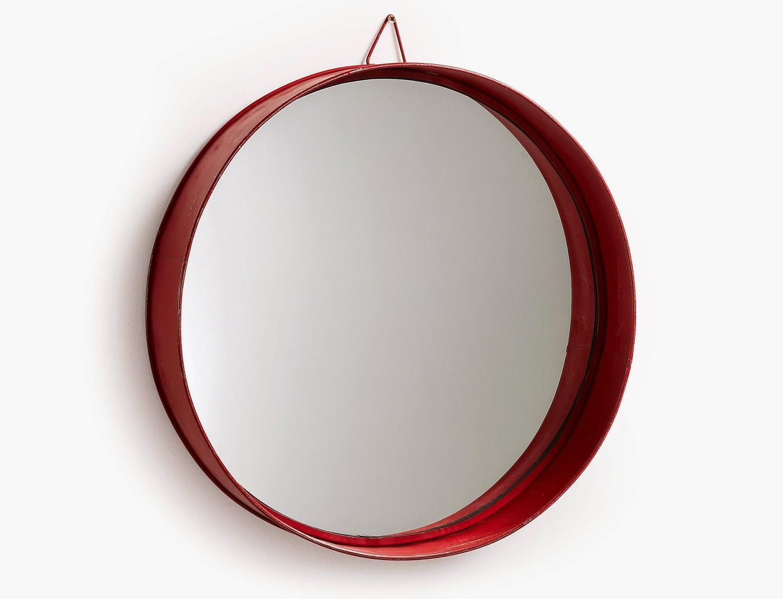 El estilo n rdico y los espejos circulares - Espejo nordico ...