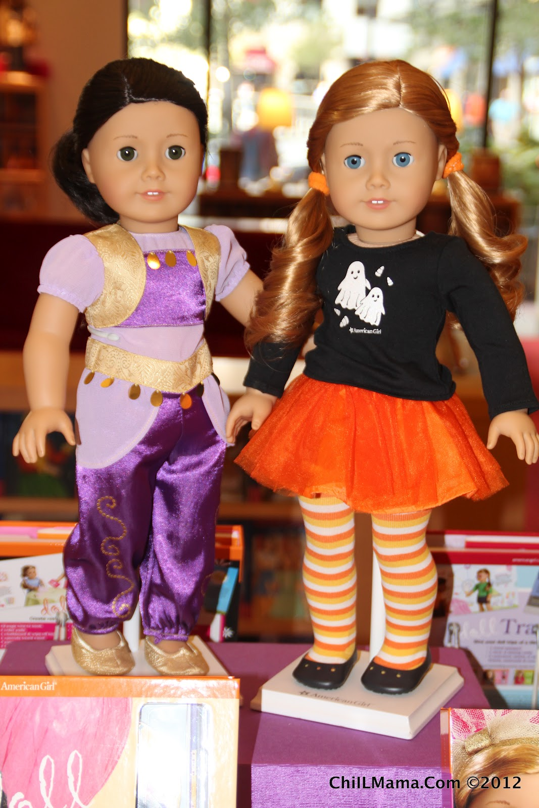 chiil mama: halloween fun with american girl, monster cake & more
