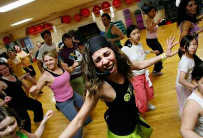 Zumba is an extremely popular dance fitness class that burns over 800 calories per hour on average.