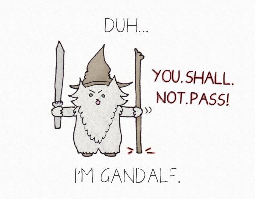 Halloween Gandalf