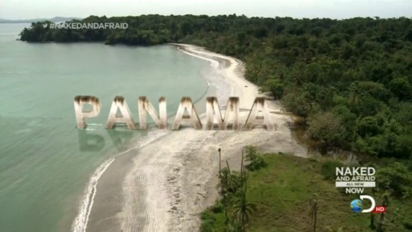 clint jivoin and laura zerra are naked and afraid on a panamanian