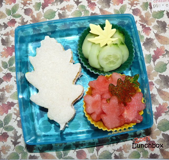 Fall Bento Lunch