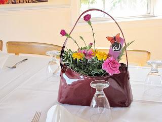 purse centerpiece