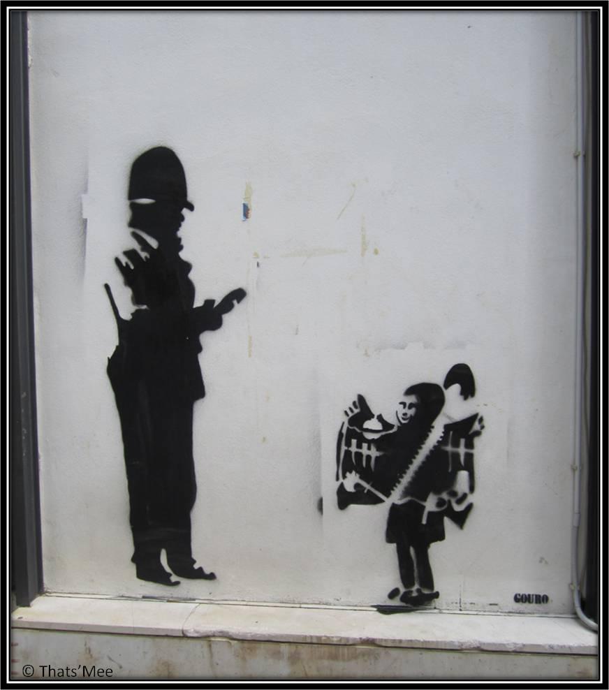 Street Art Gouro Agios Nicholaos Crête