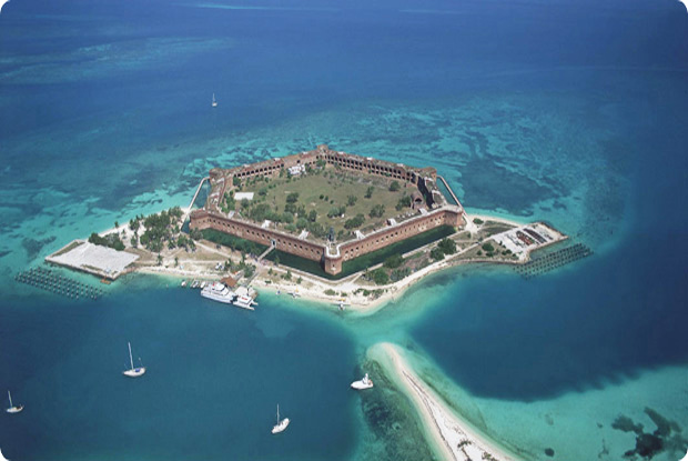 Key west real estate now summer in the keys for Garden key dry tortugas national park
